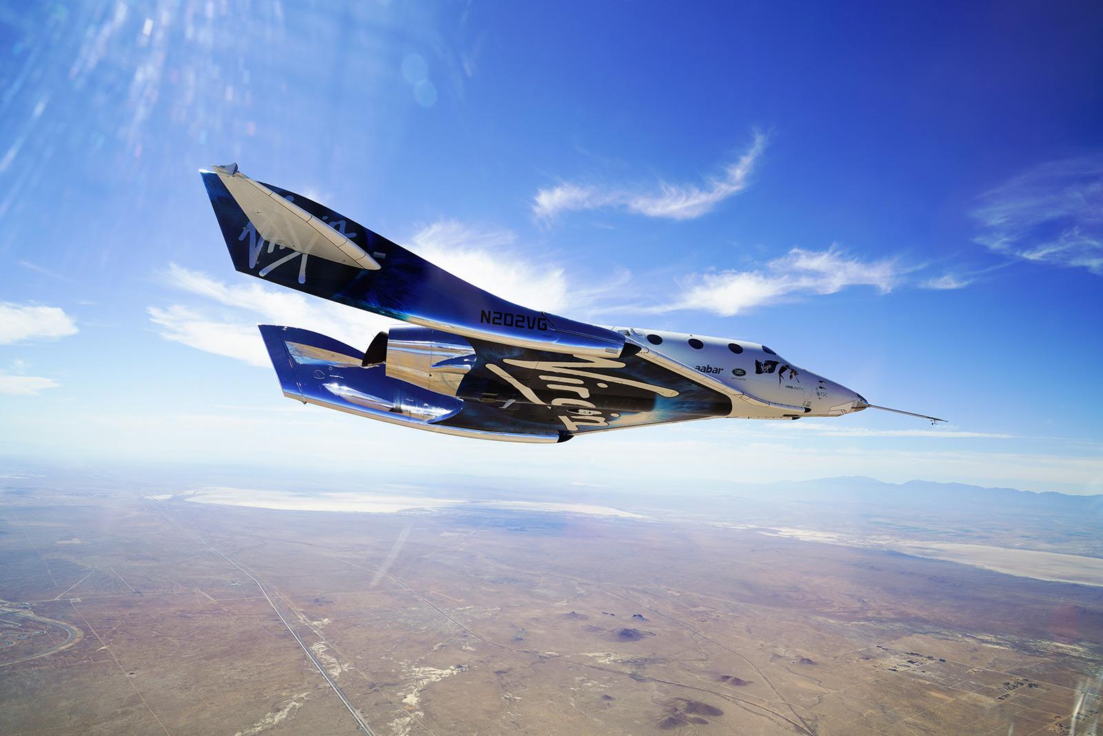 Virgin Galactic - VSS Unity Gliding Home