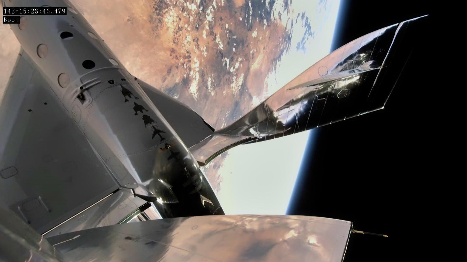 Virgin Galactic - VSS Unity In Space