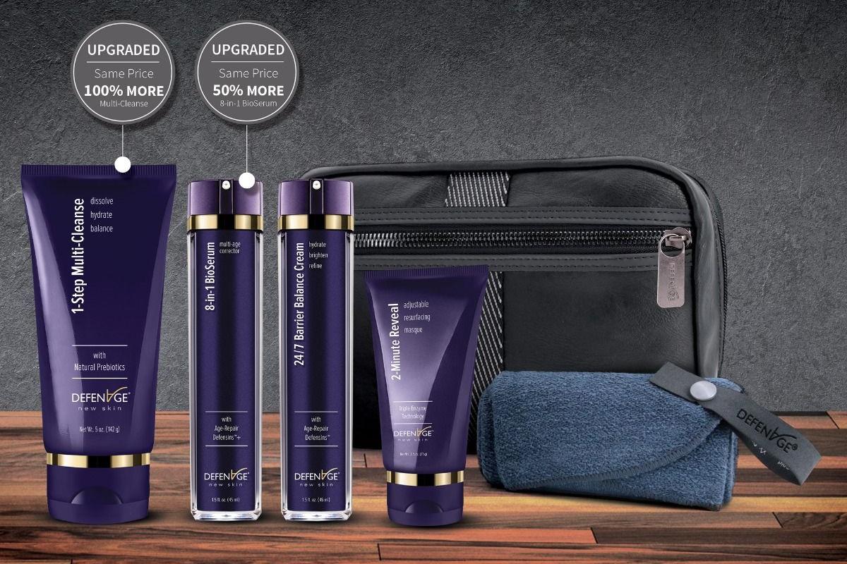 DefenAge Men's Skin Care Kit