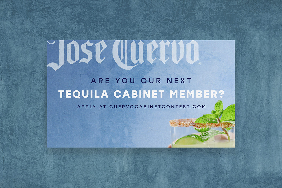 Jose Cuervo Tequila Cabinet Member