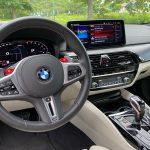 2021 BMW M5 Competition interior