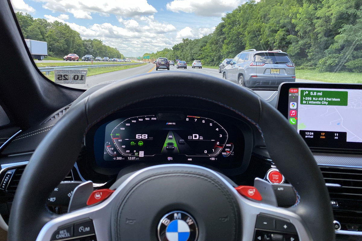 2021 BMW M5 Competition - Active Driving Assistant Pro