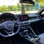 2021 Kia K5 GT interior