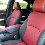 2022 Infiniti QX55 Sensory AWD seats