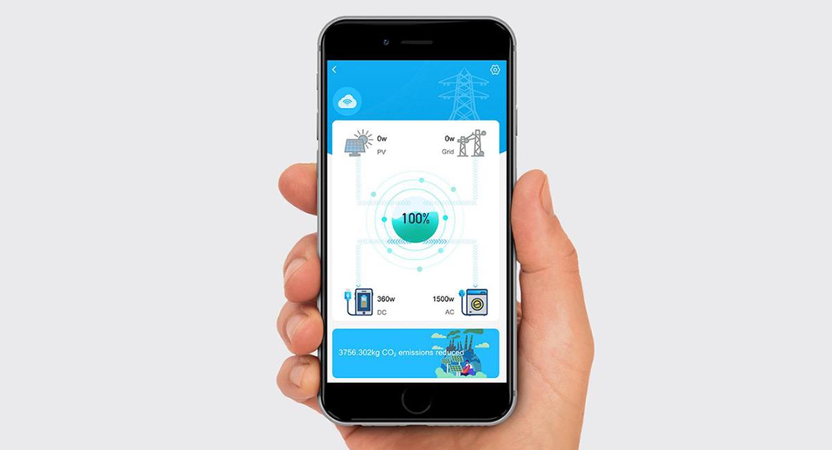 BLUETTI Smartphone App