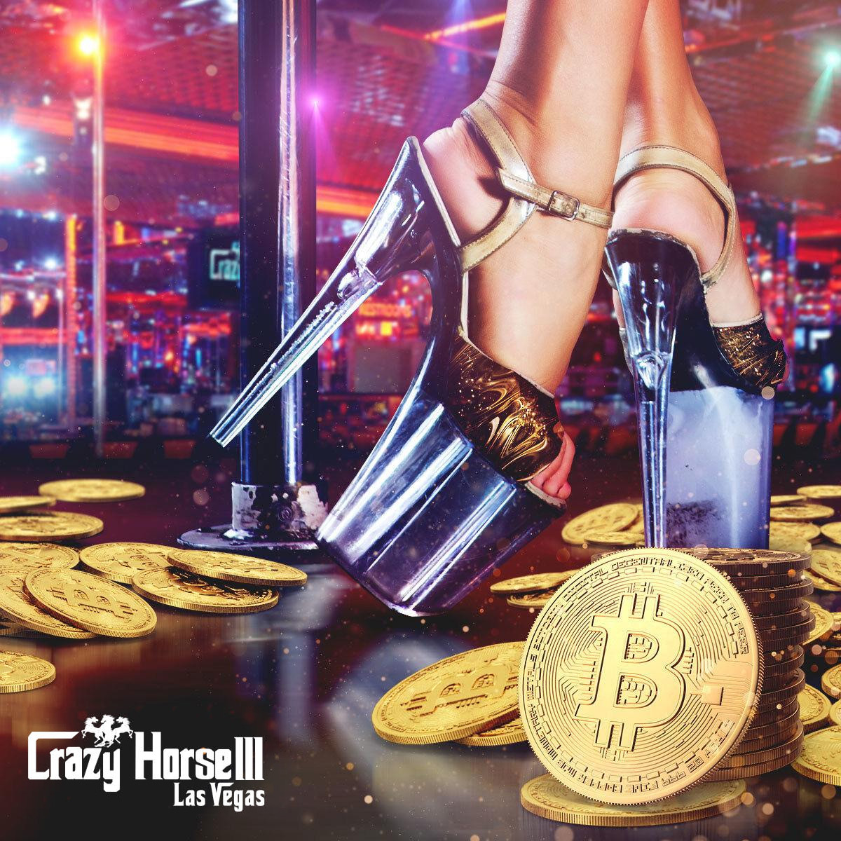 Crazy Horse 3 strip club in Las Vegas to accept Bitcoin payments