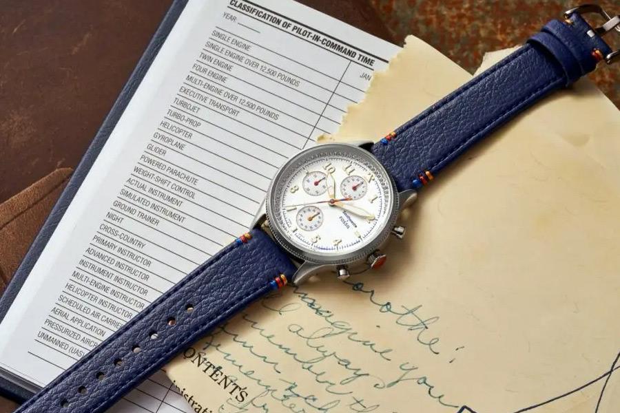 Southwest x Fossil Limited Edition Retro Pilot Chronograph