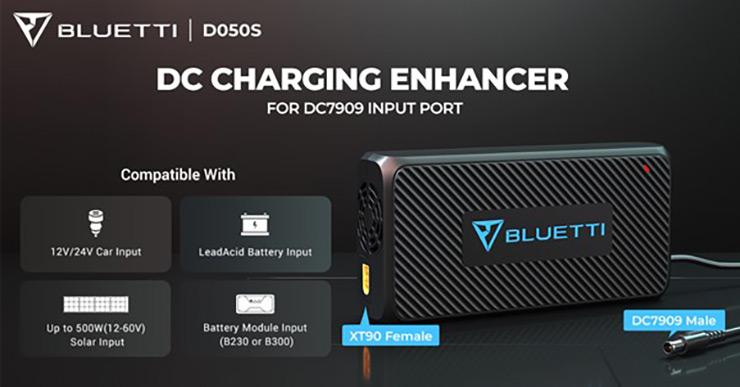 BLUETTI DC Charging Enhancer