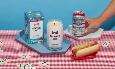 Homesick x Budweiser Backyard BBQ candle