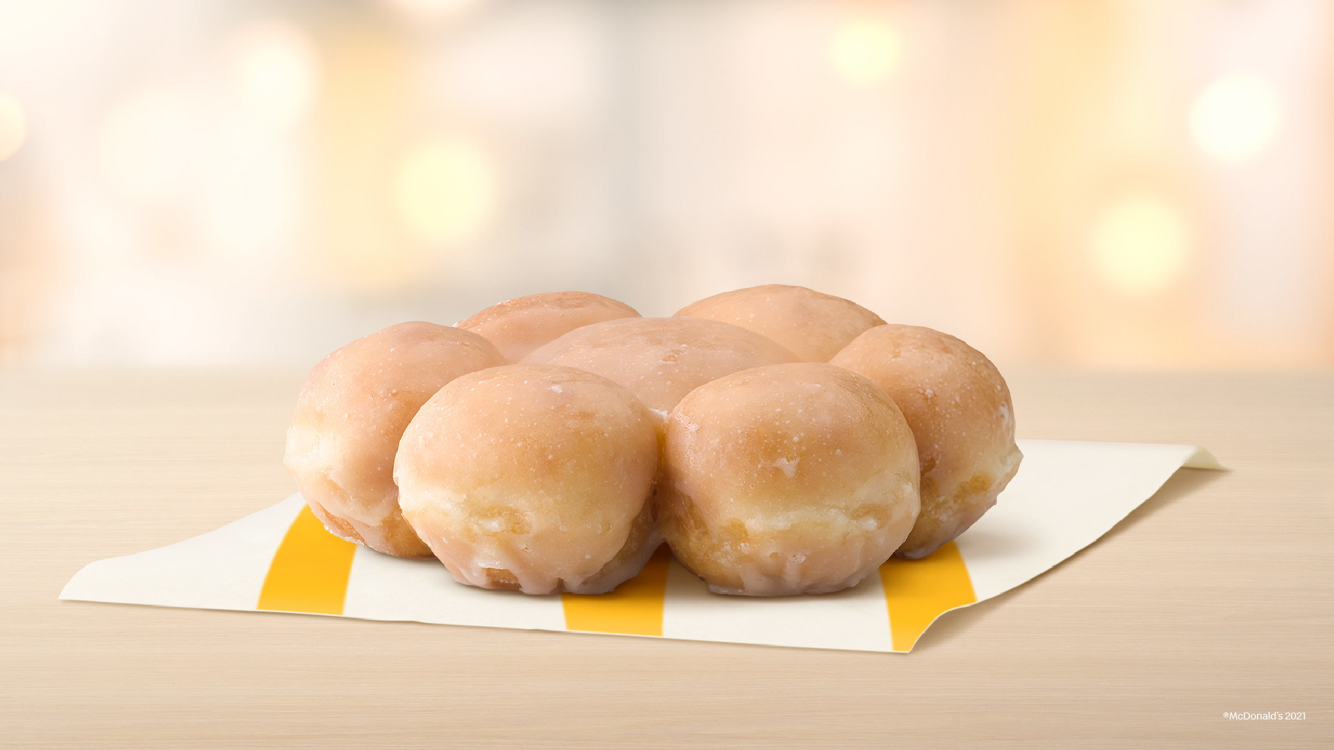 McDonald's Glazed Pull Apart Donut