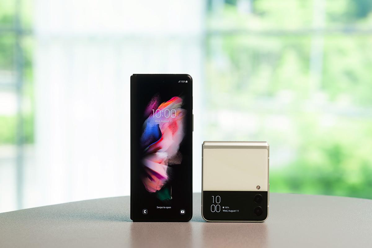Samsung Galaxy Z Fold 3 and Galaxy Z Flip 3