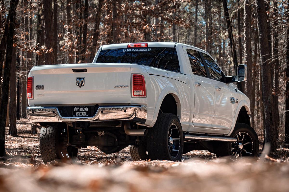 White Ram truck