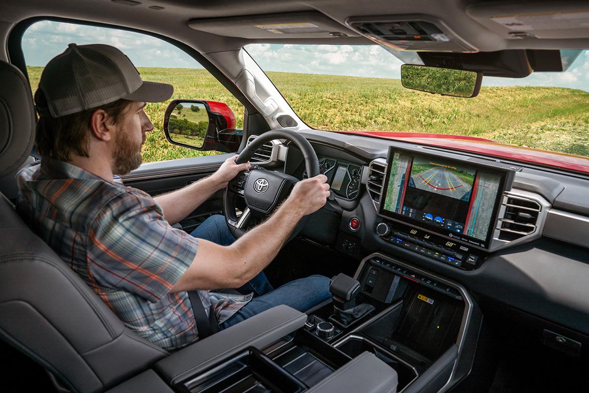2022 Toyota Tundra Limited interior