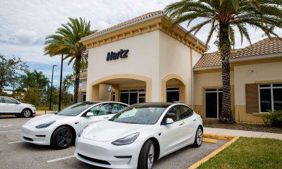 Hertz to purchase 100,000 Tesla Model 3 vehicles